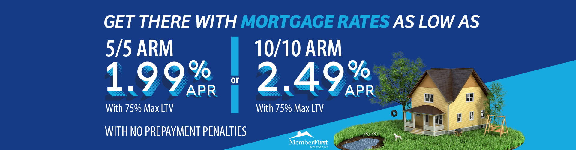 Get there with low mortgage rates from Dover Federal