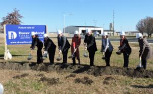 Ground Breaking Ceremony at the New Dover Air Force Base Branch