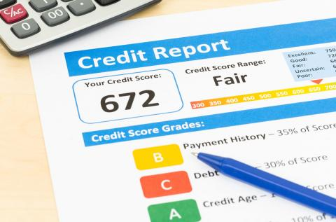 What makes up my credit score?